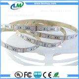 Tiras flexíveis do diodo emissor de luz de SMD5054 30W/M 60LEDs DC12V RGB