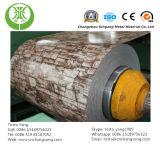 De houten Rol van het Aluminium van de Korrel (met een laag bedekte kleur)