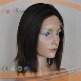 최고 판매 작풍 가득 차있는 Virgin Remy 본래 색깔 머리 레이스 정면 실크 최고 여자 가발