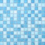 Mosaico del vidrio de agua para el material de construcción de la piscina