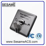 Acier inoxydable aucun bouton de porte de COM OR (SB3C)