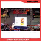 P4 SMD1921 kontrastreicher im Freienmiete LED-Bildschirm