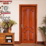 Puertas de madera de la teca sólida de madera externa de la puerta del dormitorio (GSP2-004)