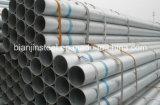 Tubo de acero galvanizado sumergido caliente para la estructura de acero