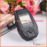 Émetteur mains libres de Bluetooth de véhicule de l'émetteur FM de la Chine