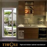 Tivoliの品質小さい木MFCの食器棚Tivo-0046V