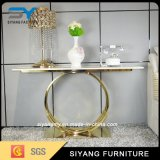 European Design Luxury Golden Hotel Side Console Table