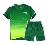 Il prezzo delle camice di calcio progetta il gioco del calcio per il cliente Jersey di Ployester Tailandia