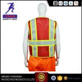 Veste reflexiva da segurança da visibilidade elevada (workwear) En20471