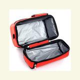 Conteneur plus frais de déjeuner de paniers-repas de module d'isolation épaissi par double couche de paquet de glace de sac