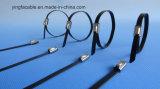 304 atadura de cables del acero inoxidable de 316 grados con la bola de rodillo