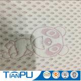 Tessuto di ticchettio del materasso del bambino del reticolo del fumetto