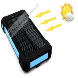 Batterie rechargeable solaire imperméable à l'eau portative du côté 6000mAh de pouvoir