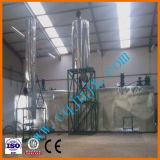Destilación profesional del aceite de motor de la planta de reciclaje del petróleo inútil del fabricante al combustible diesel