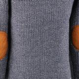 Dessus du chandail des garçons chauds de type fondamental de l'hiver dans la mesure lourde avec de longues chemises