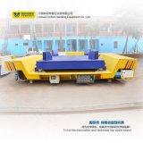 Batteriebetriebene motorisierte Schienen-flache Übergangswagen-Karre