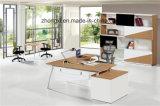 사무실을%s 현대 멜라민 행정상 테이블 L 모양 컴퓨터 테이블