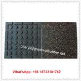 30mm重量挙げの体操のゴム製タイル張りの床のフロアーリングのマット