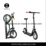 Wellsmove 디자인 300w를 접히는 경량 개인적인 수송 차량 스쿠터