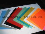 Hoja rígida de PVC para encuadernar la cubierta de A4 / A3 o personalizada