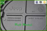 De Dekking van de Gashouder van de Olie van het aluminium voor Jeep Jk 2/4 Deur wordt verchroomd die
