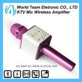 小さくかわいい携帯用Bluetoothの無線ホームカラオケのマイクロフォン