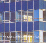 3-19mm vidrio templado con pintadas en color