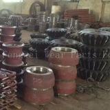 Отливка OEM износоустойчивая разделяет части дробилки запасные