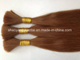 Heißes Verkauf Doppeltes gezeichnete Remy Haar-Masse-Extension/Jungfrau-Haar