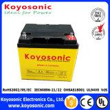 A melhor bateria da bateria 12V da pilha do gel para a potência roda 12V 80ah