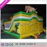 Salto inflable vendedor global combinado para la venta --PVC de 0.55 milímetros
