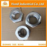 Porca Hex inoxidável de aço ASME B18.2.2 de Duples