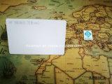 удостоверение личности пробела RFID/NFC 13.56MHz MIFARE S50 белое откалывает смарт-карту