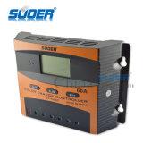 Regulador solar solar de la carga del regulador 12V 60A PWM de la carga del precio de fábrica de Suoer (ST-C1260)