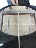 Оптовая тщета гранита черноты высокого качества с верхней частью