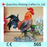 Statua Handmade del gallo della resina della decorazione del giardino da vendere