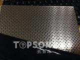 dekorative Farbe geprägte Blatt-niedriger Preis-gute Qualität des Edelstahl-201 304 316