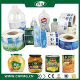 Etiqueta engomada clara impermeable modificada para requisitos particulares vendedora caliente de la etiqueta engomada