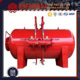 反火装置、消火器システム、泡のぼうこうタンク