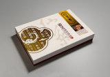 El OEM modifica el rectángulo de regalo para requisitos particulares de papel de la caja de embalaje del Ginseng para el alimento del cuidado médico