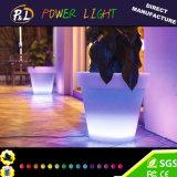 POT di fiore illuminato solare esterno impermeabile del LED