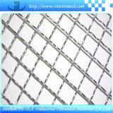 Quetschverbundener quadratischer Maschendraht verwendet im Aufbau