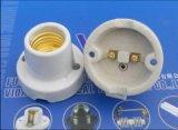 Base de cerámica de la lámpara E27 con la aprobación del Ce