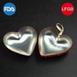 Rectángulo en forma de corazón del estaño del regalo para el embalaje del recuerdo/de la joyería (H001-V5)