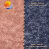Nettes PU-Gewebe-Leder für Schuh mit geprägter Oberfläche Fpe17m6g
