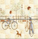 China-Baumaterial-moderne Küche-keramische Wand-Fliese