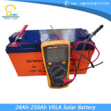 réverbère de C.C de 140lm/W-150lm/W 10W-120W avec le panneau solaire