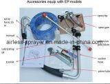 Gaxeta e selo (a metade superior) para o pulverizador mal ventilado da pintura de Graco