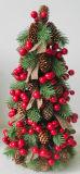 Árbol de navidad hecho a mano de la emulación para la decoración del día de fiesta
