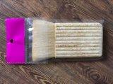 Hölzerner Griff-Lack-Pinsel mit Wolle-Material für Thailand-Markt